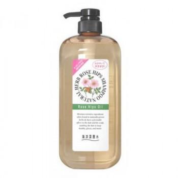 Шампунь на основе натуральных растительных компонентов (с маслом шиповника, для нормальных волос)
