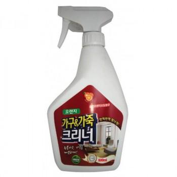 Жидкое средство для чистки мебели с апельсиновым маслом