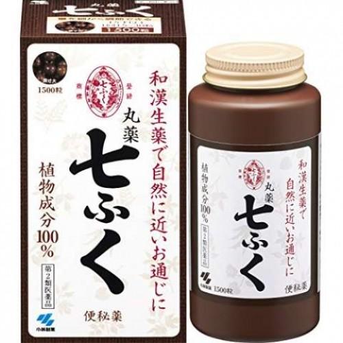 Kobayashi Слабительное средство Shichifuku (1500 таблеток)