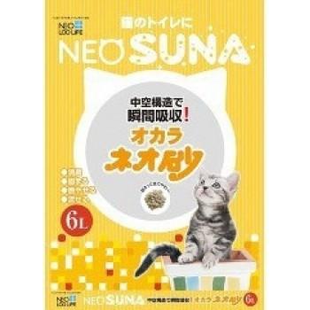 Наполнитель для кошачьего туалета комкующийся KOCHO NEO SUNA с интенсивной защитой от запаха, 6 л
