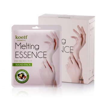 Маска-перчатки для рук Смягчающая MELTING ESSENCE HAND PACK, 10 шт
