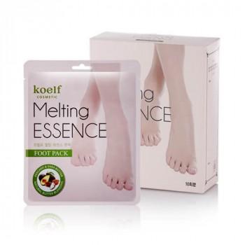 Маска-носочки для ног Смягчающая Melting ESSENCE Foot Pack, 10 шт
