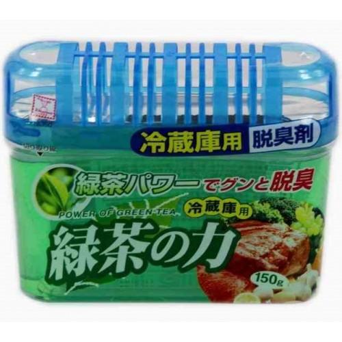 Дезодорант-поглотитель неприятных запахов KOKUBO экстракт зелёного чая для холодильников (общ камера)150г