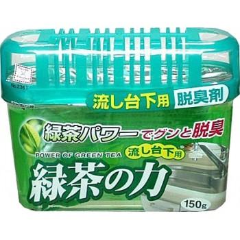 Дезодорант-поглотитель неприятных запахов KOKUBO экстракт зелёного чая под раковину 150 г