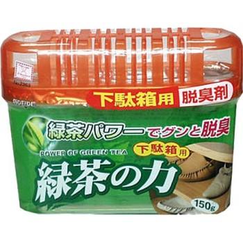 Дезодорант-поглотитель неприятных запахов KOKUBO экстракт зелёного чая для обувных шкафов 150 г