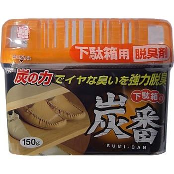 Дезодорант-поглотитель неприятных запахов KOKUBO с древесным углём для обувных шкафов 150 г