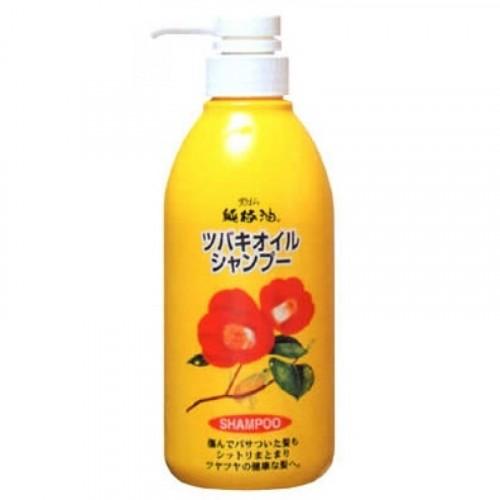 Шампунь для поврежденных волос с маслом камелии японской