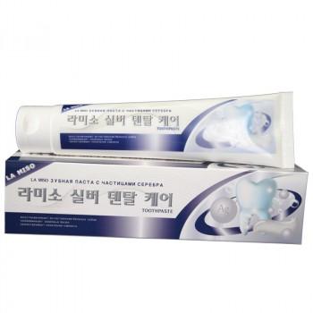 Зубная паста с частицами серебра