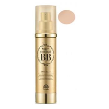 ББ крем с экстрактом улитки и золотом 21 тон Super Gold Snail BB, SPF50 #21 Natural Beige