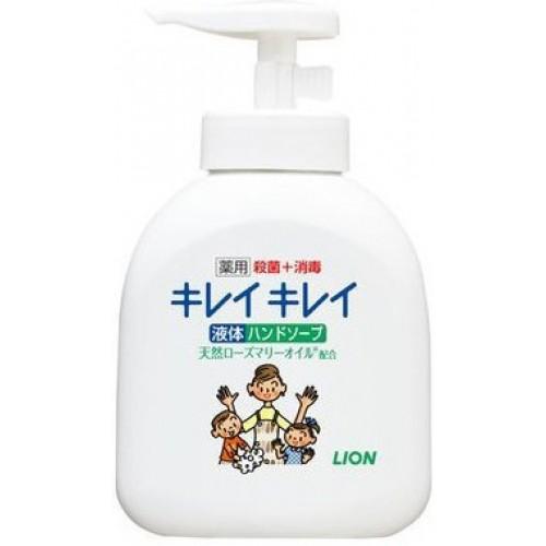 Жидкое мыло для рук LION Kirei Kirei с ароматом цитруса флакон-дозатор 250 мл