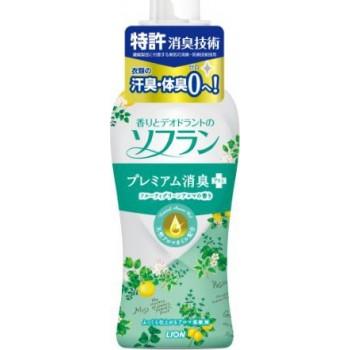 Кондиционер для белья с цитрусовым ароматом LION Soflan флакон 620 мл