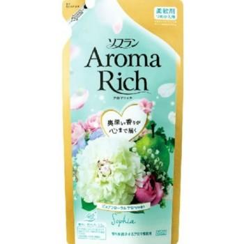 Кондиционер для белья LION Aroma Rich Sofia с женственным цветочным ароматом, запасной блок 430 мл