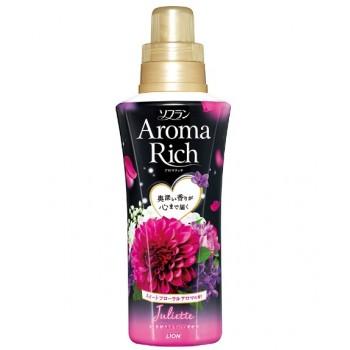 Кондиционер для белья LION Aroma Rich Juliette с ароматом ванили и жасмина, флакон 550 мл