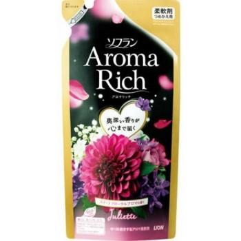 Кондиционер для белья LION Aroma Rich Juliette с ароматом ванили и жасмина, запасной блок 430 мл