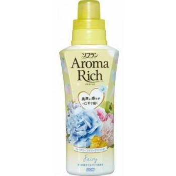 Кондиционер для белья LION Aroma Rich Fairy с ароматом ландыша и фруктов флакон 550 мл