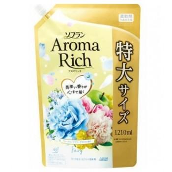 Кондиционер для белья ION Aroma Rich Fairy с ароматом ландыша и фруктов мягкая уп. 1210 мл