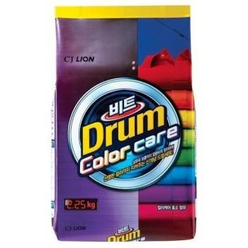 Стиральный порошок Lion Beat Drum Color для авт. стирки цветного белья мягкая упаковка 2,25 кг