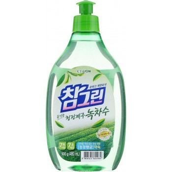 Средство для мытья посуды Lion Chamgreen с ароматом зеленого чая флакон 480 мл