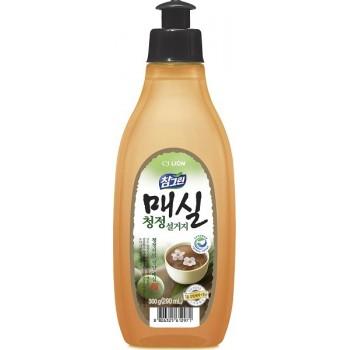 Средство для мытья посуды Lion Chamgreen Японский абрикос флакон 290 мл