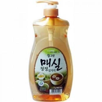 Средство для мытья посуды Lion Chamgreen Японский абрикос флакон-дозатор 960 мл