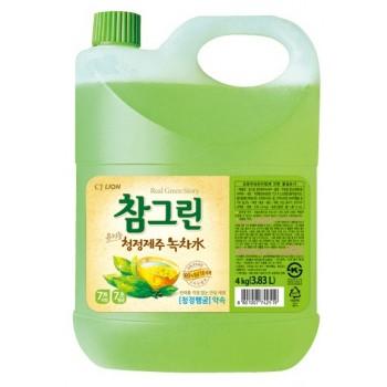 Средство для мытья посуды Lion Chamgreen С ароматом зеленого чая флакон 3830 мл
