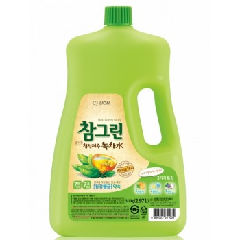 Средство для мытья посуды Lion Chamgreen С ароматом зеленого чая флакон 2970 мл