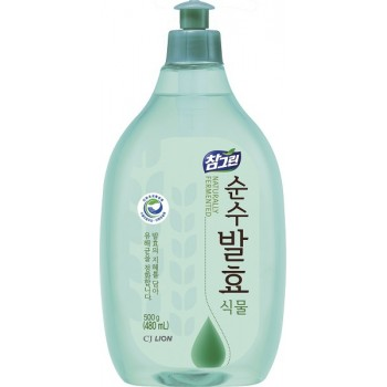 Средство для мытья посуды Lion Chamgreen Pure Fermentation Растительные ферменты флакон 480 мл