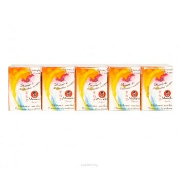 Платочки бумажные MANEKI Sumi-e с ароматом фруктов 10х10 шт