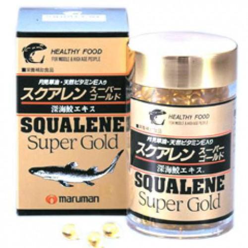 Maruman Сквален Super Gold (300 капсул на 60 дней)