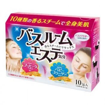 Соль для ванны с плацентой и коллагеном (10 ароматов)