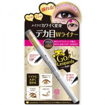 Влагостойкая жидкая подводка + тени-карандаш для век