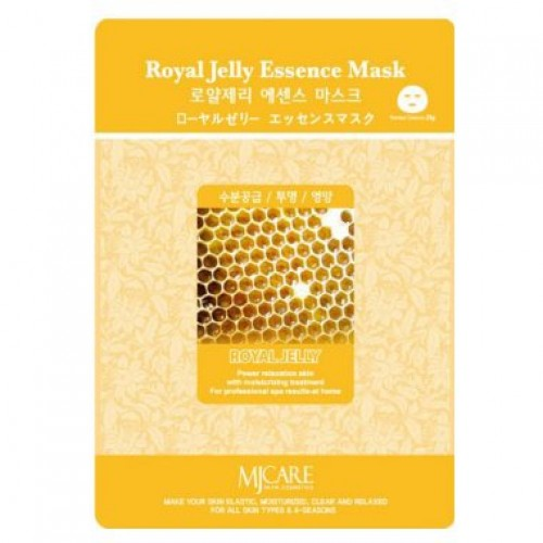 Маска тканевая маточное молочко Royal Jelly Essence Mask