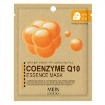 Маска для лица тканевая коэнзим COENZYME Q10 ESSENCE MASK