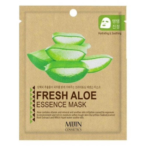 Маска для лица тканевая алое FRESH ALOE ESSENCE MASK