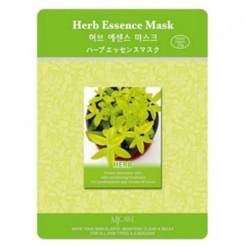 Маска тканевая экстракты трав Herb Essence Mask
