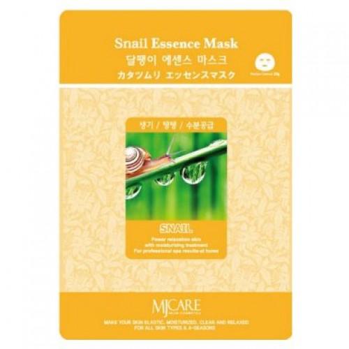 Маска тканевая улитка Snail Essence Mask