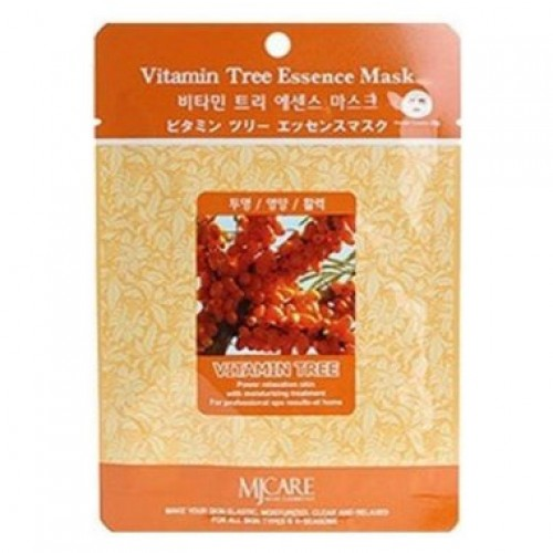 Маска тканевая облепиха Vitamin Tree Essence Mask