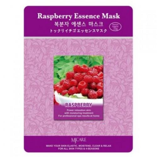 Маска тканевая малина Raspberry Essence Mask