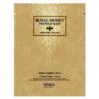 Маска тканевая с экстрактом меда и прополисом RNW ROYAL HONEY PROPOLIS MASK