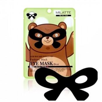 Маска от морщин вокруг глаз FASHIONY BLACK EYE MASK-BEAR