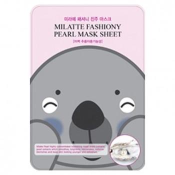 Маска тканевая с экстрактом жемчуга FASHIONY PEARL MASK SHEET