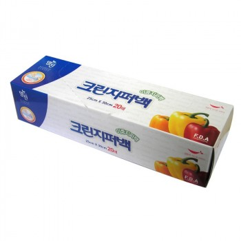Пакеты полиэтиленовые пищевые с двойной застежкой – зиппером (в коробке) 25см*30см