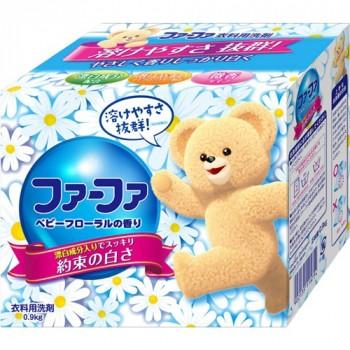 Концентрированный cтиральный порошок NISSAN Soap с кондиционером для детского белья FaFa Цветочный 900 гр