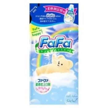 Кондиционер для детского белья NISSAN Soap FaFa с цветочным ароматом запасной блок 540 мл