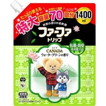 Кондиционер для детского белья NISSAN Soap FaFa Канада концентрированный запасной блок 1,4 л
