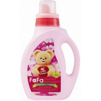 Жидкое средство для стирки детского белья NISSAN Soap FaFa с яблочным ароматом флакон 1000 мл