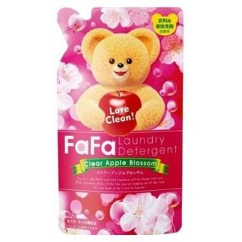 Жидкое средство для стирки детского белья NISSAN Soap FaFa с яблочным ароматом запасной блок 900 мл