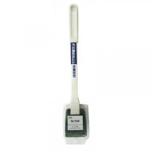 Губка для туалета жесткая (ручка 30 см)