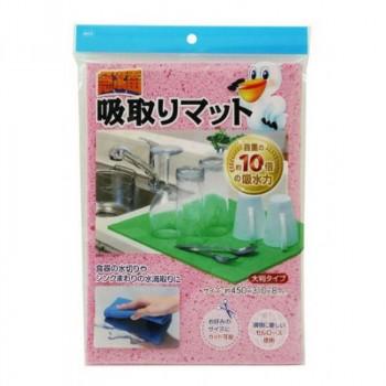 Абсорбирующая губка для кухни из целлюлозы, 30*22см