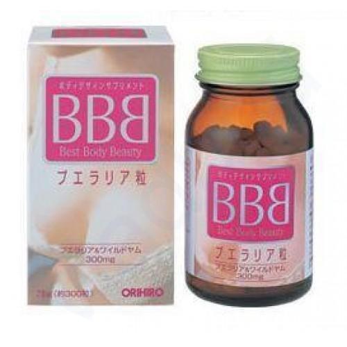 Orihiro BBB Best Body Beauty Бад для улучшения формы груди и омоложения женского организма